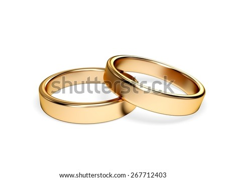 3D. Wedding, Ring, Wedding Ring.