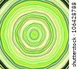 3d wobbly tube green abstract backdrop - stock photo