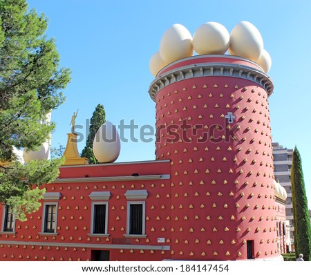 Dali Museum in Figueres - stock photo