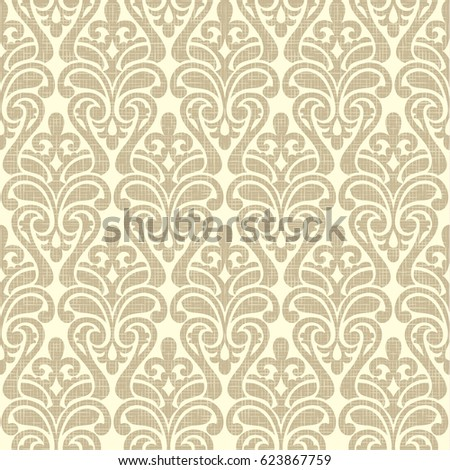 Damask Wallpaper Colorful Seamless Pattern Pink And Blue On Black Background
