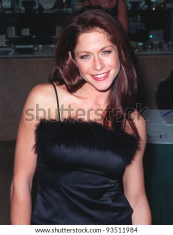 "04DEC98:  ""Melrose Place"" star JAMIE LUNER at Beverly Hills Christmas party given by Spelling Entertainment Group for the casts of their TV shows.  Paul Smith / Featureflash"