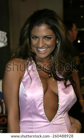 16 December 2004 - Hollywood, California - Bridgetta Tomarchio. The premiere of 'Meet The Fockers' at the Universal Amphitheatre Universal Studios in Hollywood.  - stock photo
