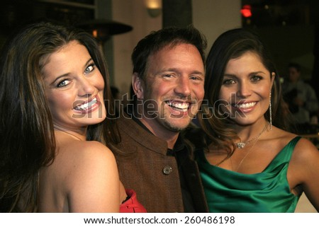 16 December 2004 - Hollywood, California - Kate Koth, Glenn Stearns and Mindy Burbano-Stearns. The premiere of 'Meet The Fockers' at the Universal Amphitheatre Universal Studios in Hollywood.  - stock photo