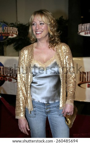 16 December 2004 - Hollywood, California - Virginia Madsen. The premiere of 'Meet The Fockers' at the Universal Amphitheatre Universal Studios in Hollywood.  - stock photo