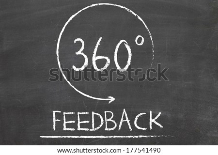 360 Degrees Feedback Concept - stock photo