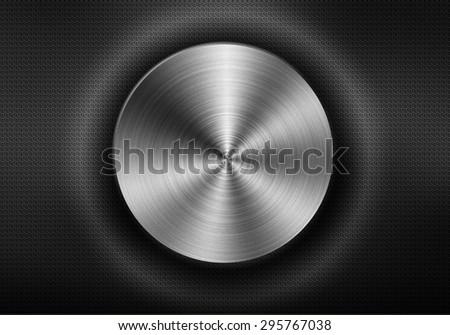 Design metal texture background. - stock photo