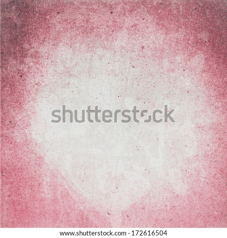 Designed  detailed grunge paper textured background. High resolution recycled colorful white and red cardstock.  - stock photo