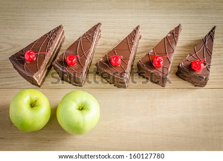 5:2 diet concept - stock photo