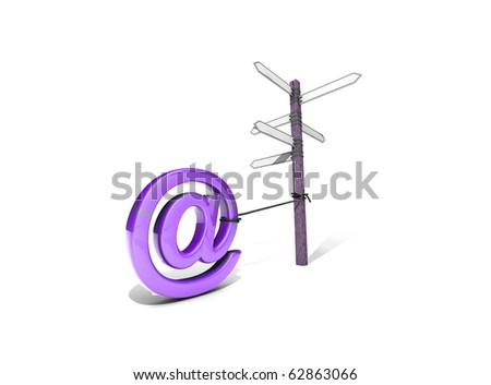 """dog"" On a chain - stock photo"