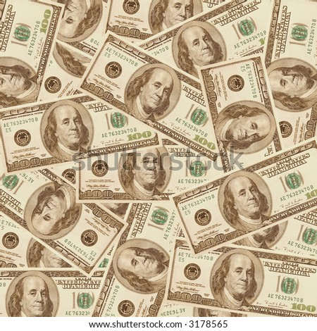 $2000 Dollar for a background - stock photo
