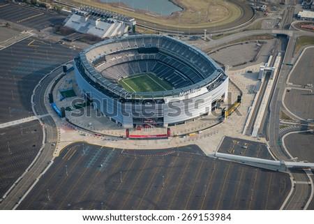 Metlife Stadium Aerial View 5 Aerial View of Metlife