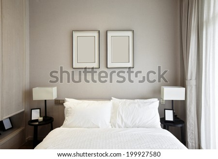 Elegant house interiors - stock photo