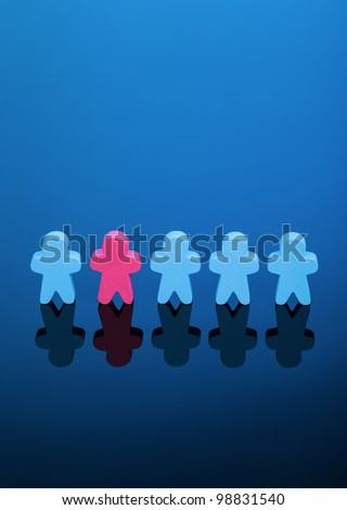 Equality - stock photo