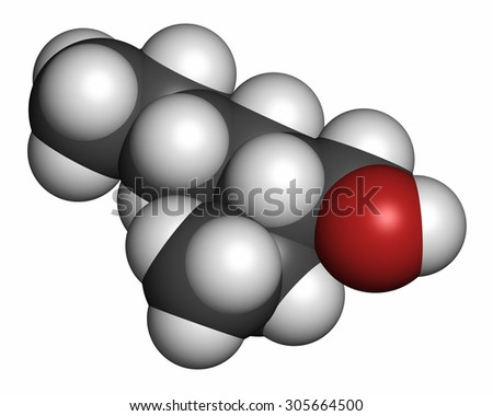 2 Ethylhexanol 2 Eh Molecule Used As Solvent Fragrance