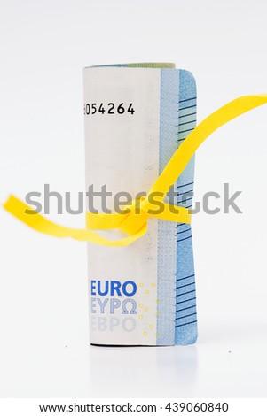 20 Euro banknote - stock photo