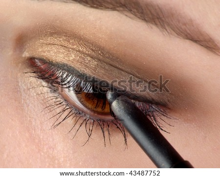 Eye pencil - stock photo