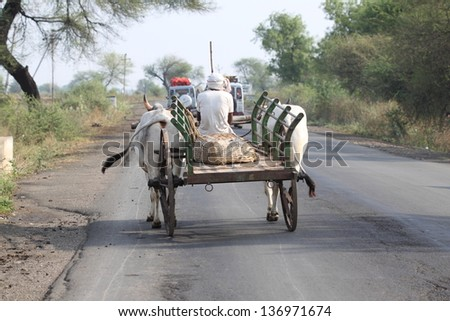 farmer on the way to his farm