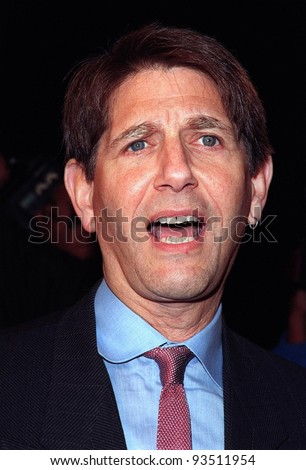 """11FEB98:  Actor PETER COYOTE at the premiere of his new  movie, """"Sphere"""" in which he stars with Sharon Stone & Samuel L. Jackson. - stock photo"""