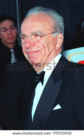 01FEB99:  Publisher/TV mogul RUPERT MURDOCH at the 1st Annual TV Guide Awards in Los Angeles.   Paul Smith / Featureflash