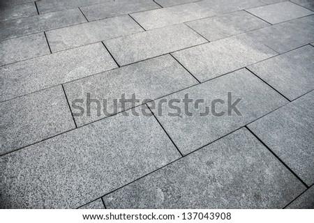 floor tiles background - stock photo
