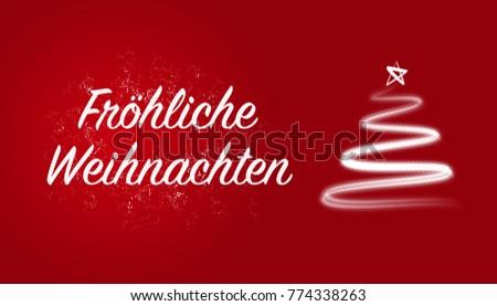 Weihnachten german merry christmas greeting white stock illustration frhliche weihnachten german merry christmas greeting white letters on red background m4hsunfo