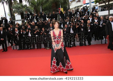 Frederique Bel attends the 'Cafe Society' premiere and the Opening Night Gala during the 69th Cannes Film Festival at the Palais des Festivals on May 11, 2016 in Cannes, France.