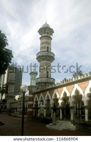 Friday Mosque, Kuala Lumpur, Malaysia - stock photo
