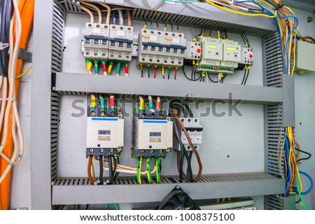 fuse box electric relay automatic machines stock photo royalty free rh shutterstock com electric fuse box ebay electric fuse box dead money