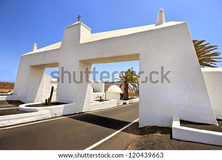 Gateway to Costa Teguise, Lanzarote, Canary Islands