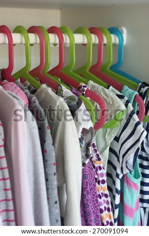 Girls wardrobe