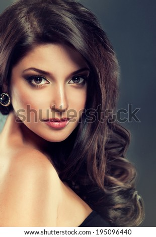 Glamour Fashion Woman Portrait - stock photo
