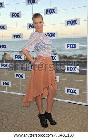 """Glee"" star Heather Morris at the Fox TV Summer 2011 All-Star Party at Gladstones Restaurant, Malibu. August 5, 2011  Malibu, CA Picture: Paul Smith / Featureflash - stock photo"