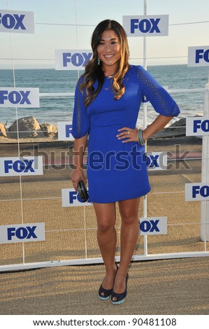 """Glee"" star Jenna Ushkowitz at the Fox TV Summer 2011 All-Star Party at Gladstones Restaurant, Malibu. August 5, 2011  Malibu, CA Picture: Paul Smith / Featureflash - stock photo"