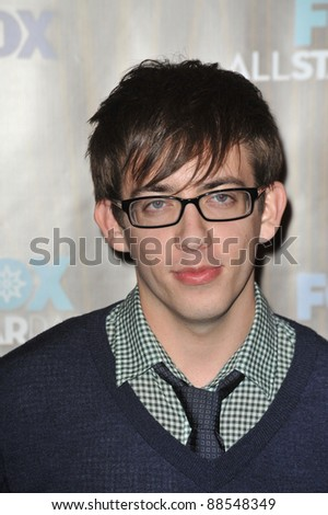 """Glee"" star Kevin McHale at the Fox TV All-Star Party at Villa Sorisso, Pasadena, CA. January 11, 2010  Pasadena, CA Picture: Paul Smith / Featureflash"