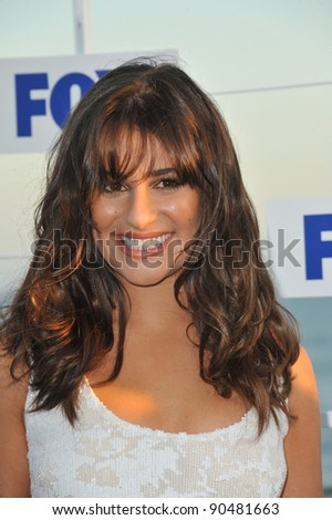 """Glee"" star Lea Michele at the Fox TV Summer 2011 All-Star Party at Gladstones Restaurant, Malibu. August 5, 2011  Malibu, CA Picture: Paul Smith / Featureflash"