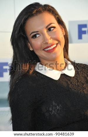 """Glee"" star Naya Rivera at the Fox TV Summer 2011 All-Star Party at Gladstones Restaurant, Malibu. August 5, 2011  Malibu, CA Picture: Paul Smith / Featureflash - stock photo"