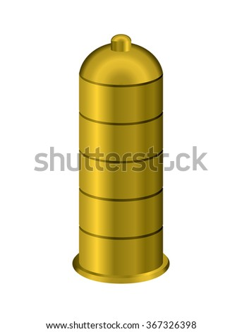 Golden condom. Precious metal  contraceptive. Luxurious protection from genital infections for rich. Reliable protection against AIDS.