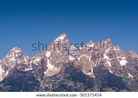 Grand Teton National Park,Wyoming,usa. - stock photo