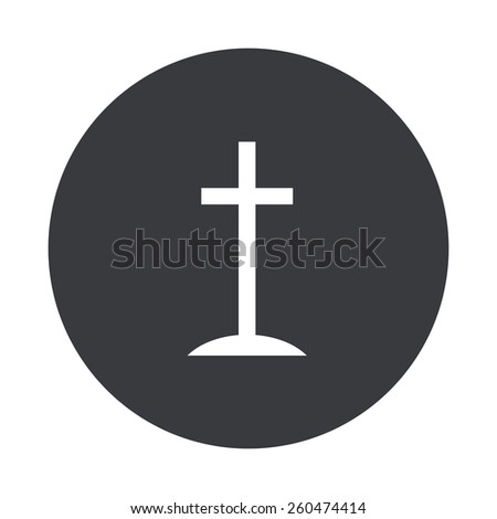 gray circle icon on white background