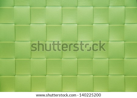 green Placemat, texture - stock photo