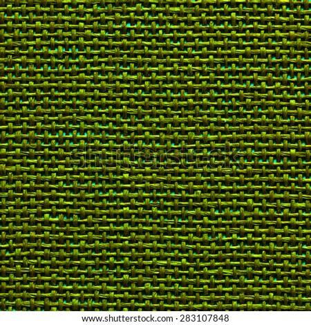 Green Textile Background. /  Green Textile Background - stock photo