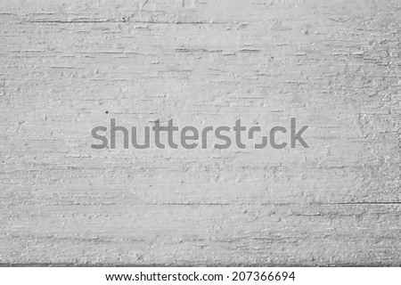 grey wooden background with peeling paint - stock photo