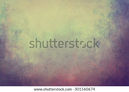 grunge  background with bleached pastel colors  - stock photo