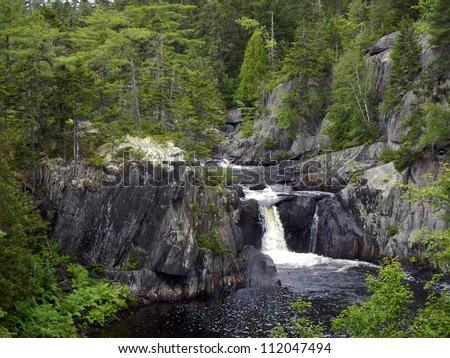 Gulf Hagas Waterfall - stock photo