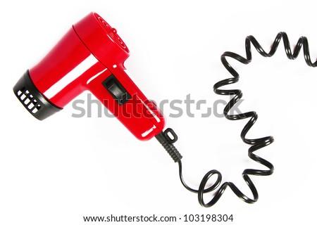 Hair dryer - stock photo