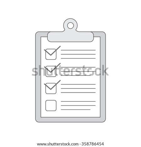 hand drawn notebook with to do list. Check boxes sketch. - stock photo