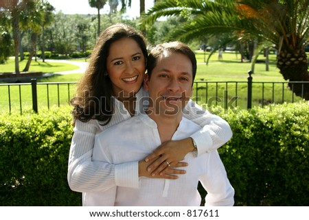 Happy couple series -1 - stock photo