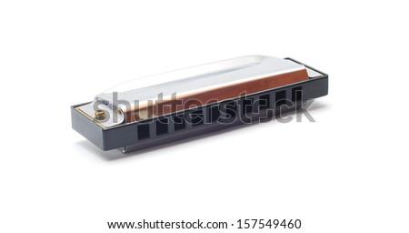 harmonica  - stock photo