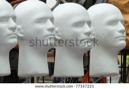 4 Heads - stock photo