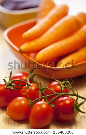 Healthy vegetable - stock photo